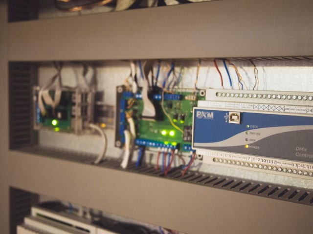 photo of a relay driver board