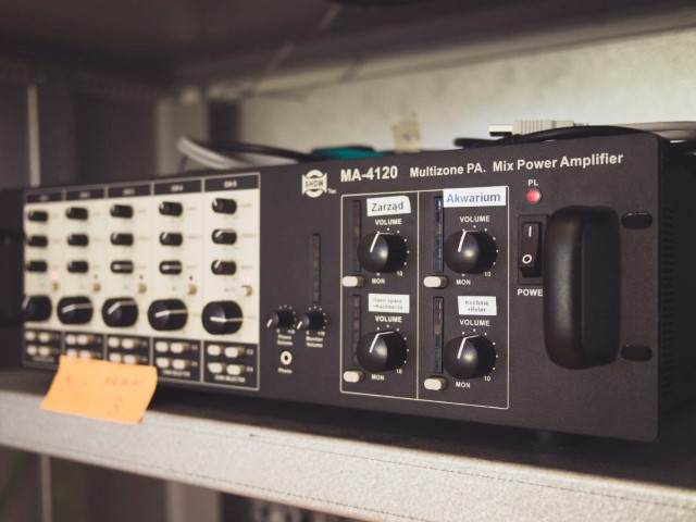 photo of a radio